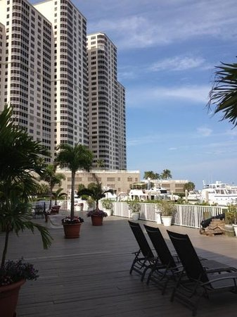Legacy Harbour Hotel & Suites: view from our deck