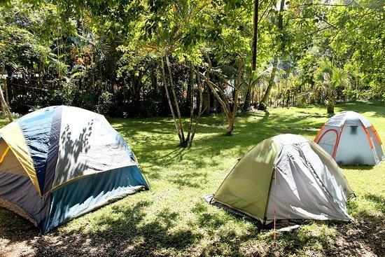 Villa Anita Cabarete: A couple of tents in the yard