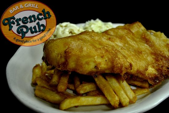 French Pub: Beer Batter Fish Fry