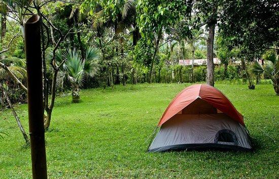 Villa Anita Cabarete: Single tent in yard