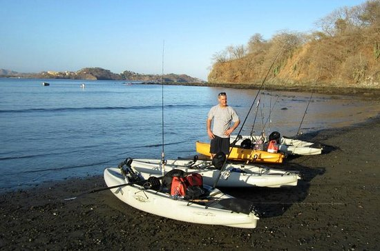 Mariner Inn: Kayak fishing in Potrero (about two miles up the beach to the North).
