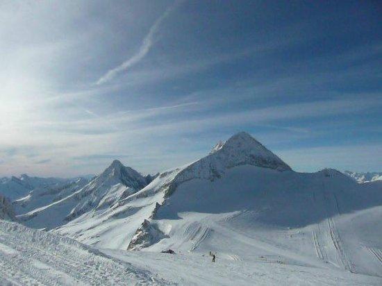 Hintertux, Österrike: uitzicht