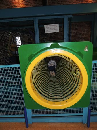 One of the entries into a play area at  Amazement Square