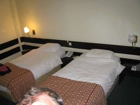 Mustafa Hotel: Les lits