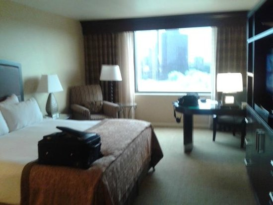 InterContinental Dallas: Very nice decor in king room 732