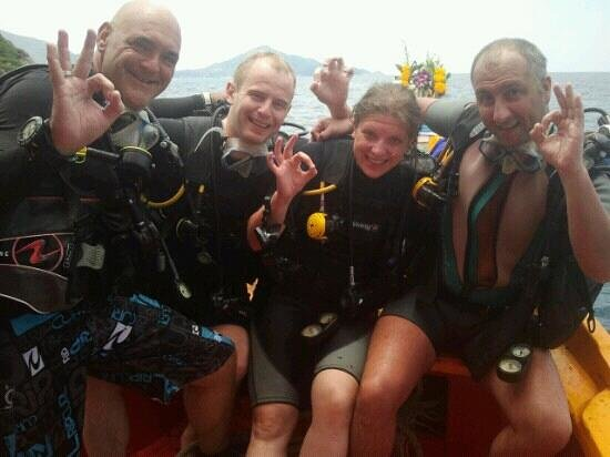 Scuba discovery at Golden Divers!