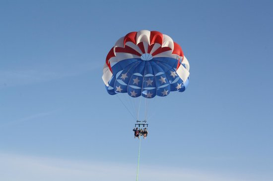 Parasailing with Radical Rides in Pensacola Beach