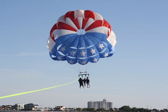 Radical Rides Parasailing At Pensacola Beach
