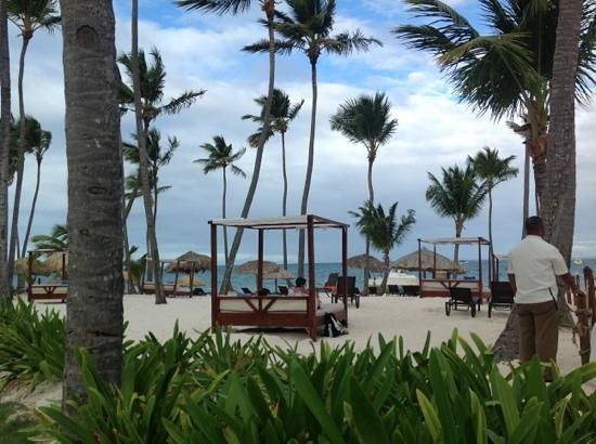 Dreams Palm Beach Punta Cana: preferred beach