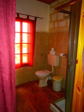 Fauzi Azar Inn by Abraham Hostels: Badezimmer Vorhang als Badezimmertür! :-(