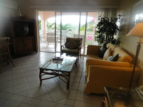 Inn at Grace Bay: living area of condo.  very clean, quaint