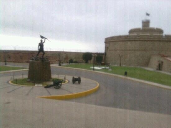 Callao, Perú: Dentro de la fortaleza.
