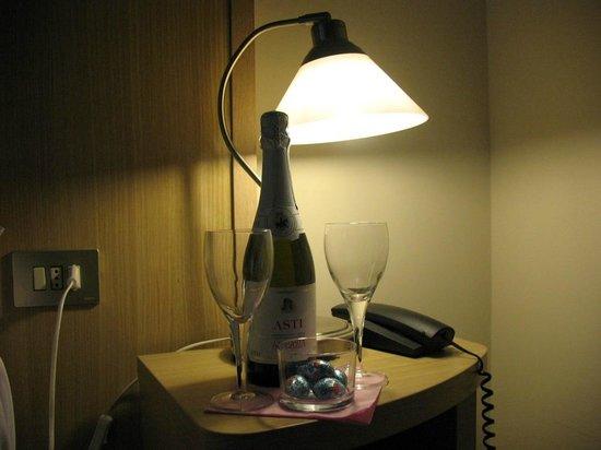 Hotel Centro : accoglienza in camera