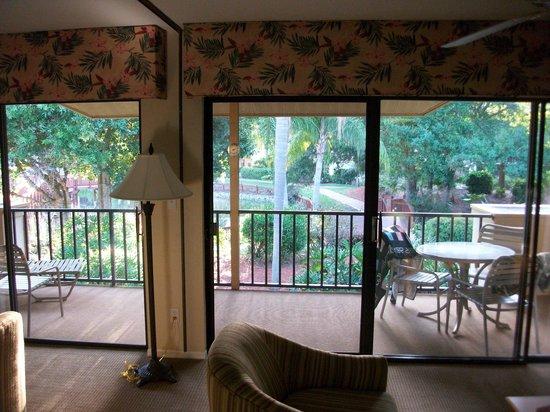 Park Shore Resort: la terrage aménagée