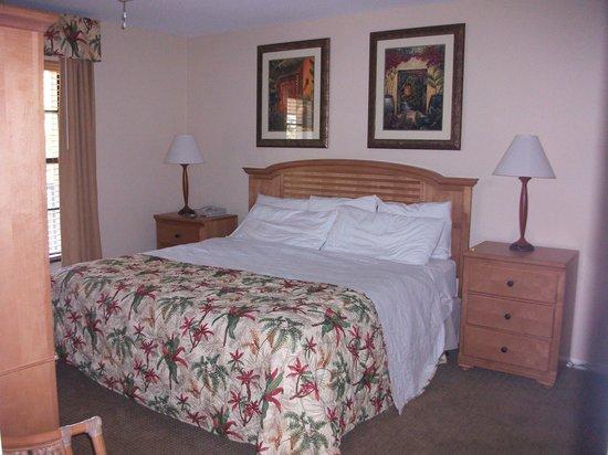 Park Shore Resort : le lit de 1m80 de large