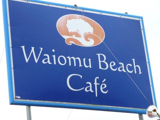 Waiomu Beach Cafe: Where we were!