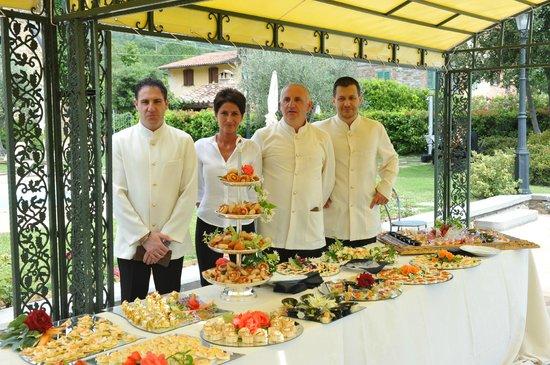 Villa Baroncino: Tast wedding canapes