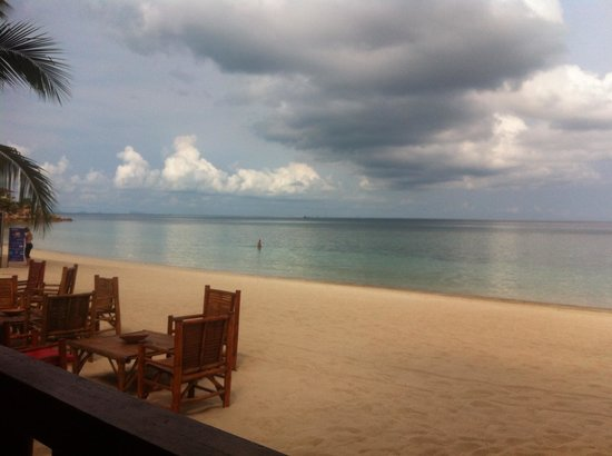 Seaboard Bungalows: Seaboard view from restaurant at breakfast, beautiful!