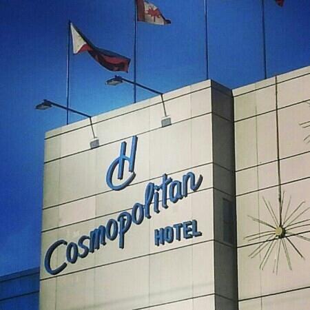 Hotel Cosmopolitan: Facade
