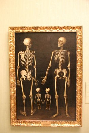 Museo de la Real Academia de Bellas Artes de San Fernando : Enguedanos, skeleton family