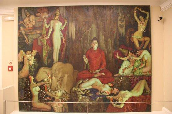 Museo de la Real Academia de Bellas Artes de San Fernando : Aguera, temptations of Buddha