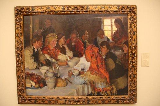 Museo de la Real Academia de Bellas Artes de San Fernando : Sotomayor, comida de boda
