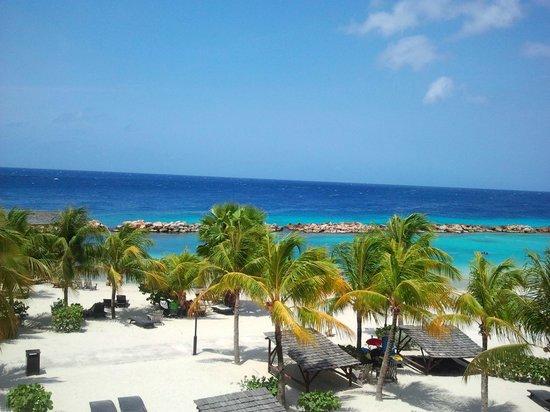 Lions Dive & Beach Resort Curacao: Uitzicht vanuit kamer
