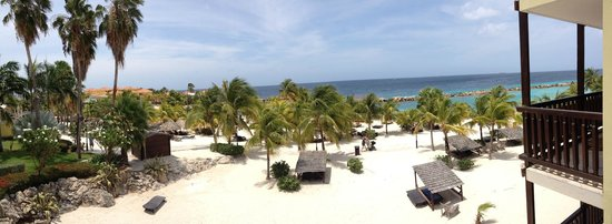 Lions Dive & Beach Resort Curacao : Uitzicht vanuit kamer