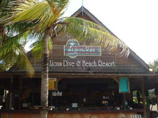 Lions Dive & Beach Resort Curacao: Hemmingway