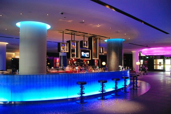 Lobby Bar Picture Of Hard Rock Hotel Singapore Sentosa
