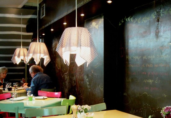 New decorations at RIFIFI- making an even warmer and stylish place to eat