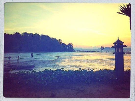 Nakamanda Resort & Spa : Blick auf den Strand, vom Hotelgarten