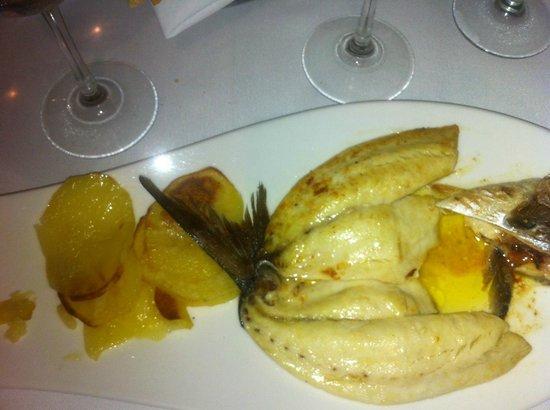 Vesuvio Malecon: Fish fillet with a style