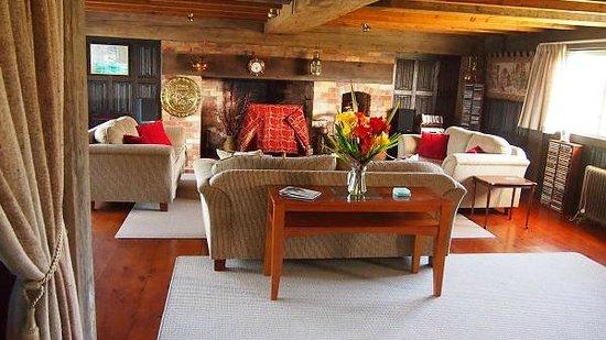 The Georgian Lodge: dinning room
