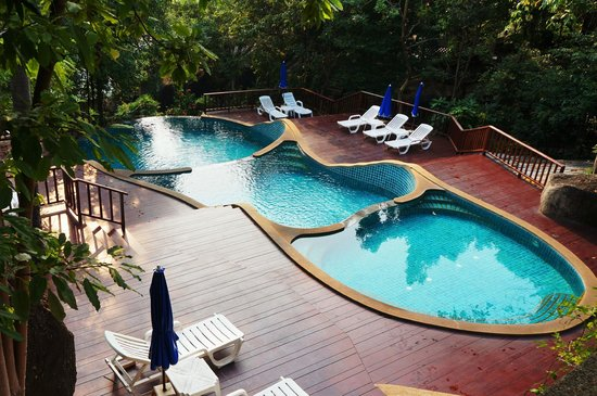 Baan Hin Sai Resort & Spa: Pool's view