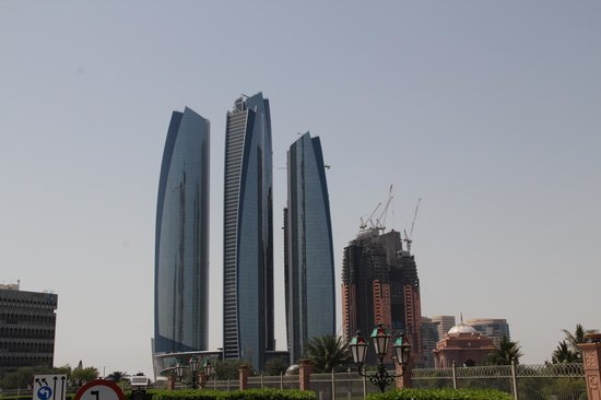 Big Bus Tours Abu Dhabi: ethiad towers