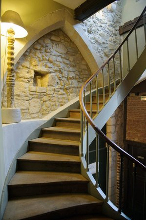 Hotel Les Chevaliers : couloir