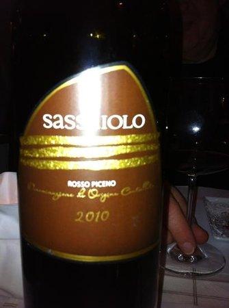 de Buhne : wonderful red wine