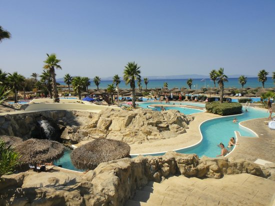 Grecotel Olympia Oasis & Aqua Park: baseny bardzo ladne