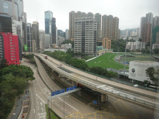 Dorsett Wanchai, Hong Kong: happy valley race course