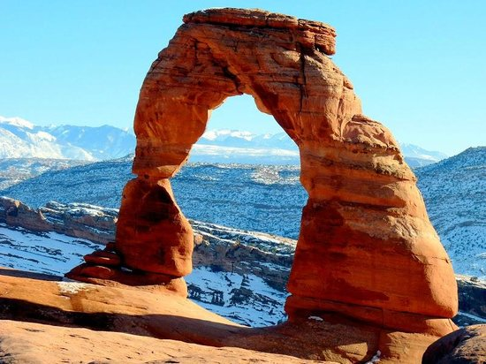 Morris' Last Resort: Delicate Arch in Arches NP