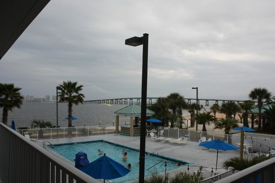 BEST WESTERN Navarre Waterfront: View from our balcony