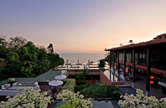Baba Soul Food: Ocean view at Baba Poolclub Phuket Restaurant
