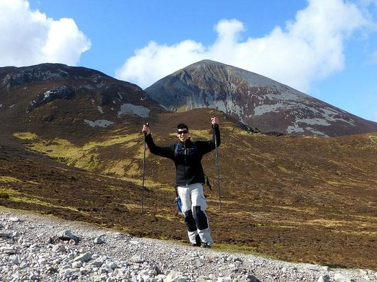 Croagh Patrick: Near the bottom!!
