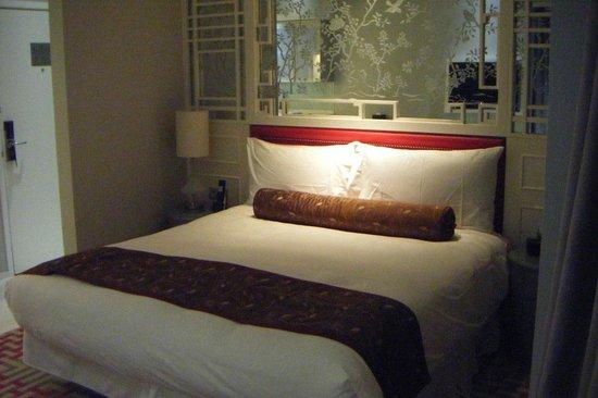 Dorsett Shanghai : il letto