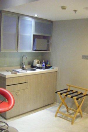 Dorsett Shanghai : il cucinino