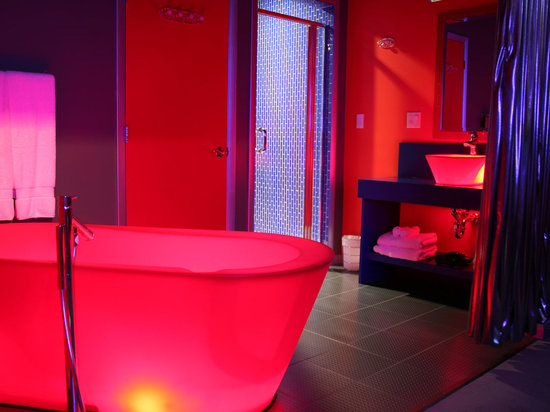 The Illuminated Bathtub And Sink Of The George S Spacepad