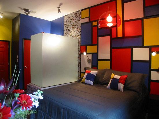 The Roxbury, Contemporary Catskill Lodging: The Partridge Nest Studio Theme Room