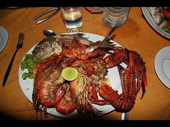 Awanhala Beach Restaurant : Une belle assiette