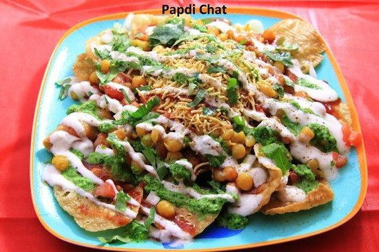 Standard Sweets and Snacks: Papdi Chat